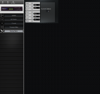 Click to display the E-MU Proteus FX Tuning Table Editor