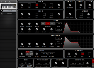 Click to display the GliGli Prophet 600 Patch (0) Editor