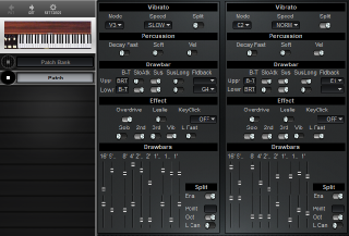 Click to display the Hammond XB-2 Patch Editor