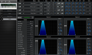Click to display the Kawai K1r Patch Editor