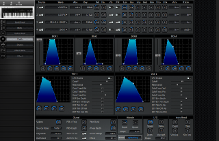 Click to display the Kawai K4r Patch Editor