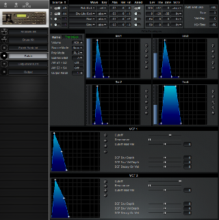 Click to display the Kawai XD-5 Patch Editor