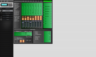 Click to display the Korg 01/W 76 Pro Combination Editor