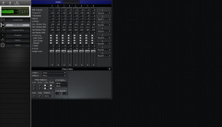 Click to display the Korg 05R/W Combination Editor