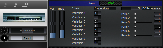 Click to display the Korg A2 Patch Editor
