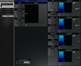 Click to display the Korg DS-8 Patch Editor