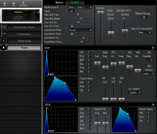 Click to display the Korg DSM-1 Patch Editor
