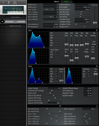Click to display the Korg DSS-1 Patch Editor