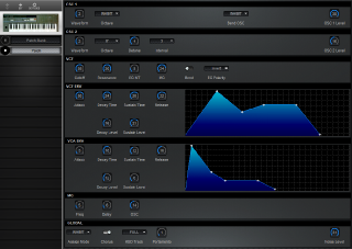 Click to display the Korg DW-6000 Patch Editor
