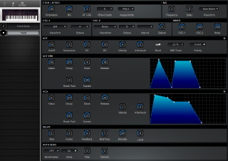Click to display the Korg DW-8000 Patch Editor