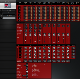 Click to display the Korg ER-1 Pattern Editor