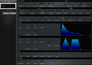 Click to display the Korg EX-8000 Patch Editor