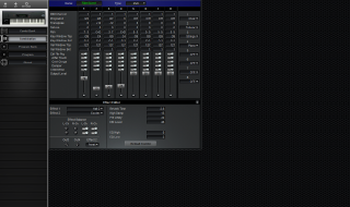Click to display the Korg M1/R EX Combination Editor