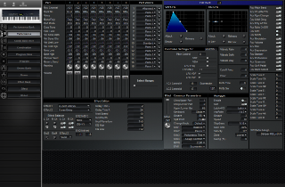 Click to display the Korg N1R Performance Editor