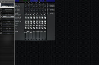 Click to display the Korg N5 Combination Editor