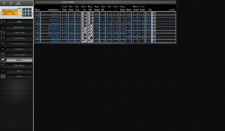 Click to display the Korg NX5R Drums Editor