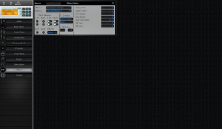 Click to display the Korg NX5R Effect Editor