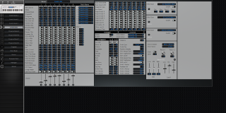 Click to display the Korg TR 88 Combination Editor