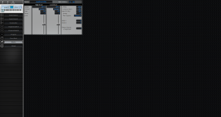Click to display the Korg Trinity V3 Drums Editor