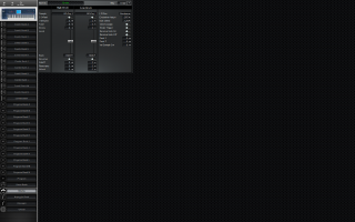 Click to display the Korg Triton Extreme 76 Drums Editor