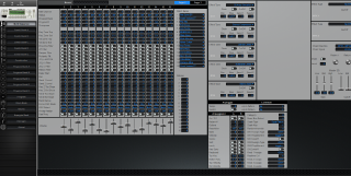 Click to display the Korg Triton Rack Multi/Sequence Editor
