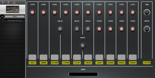 Click to display the Korg Volca Beats Patch Editor
