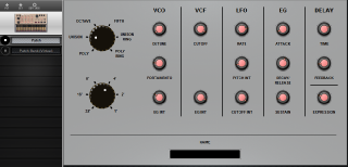 Click to display the Korg Volca Keys Patch Editor