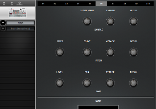 Click to display the Korg Volca Sample Patch Editor
