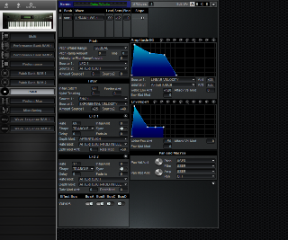 Click to display the Korg Wavestation Patch Editor