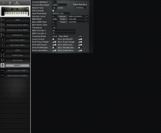 Click to display the Korg Wavestation System 1 Editor