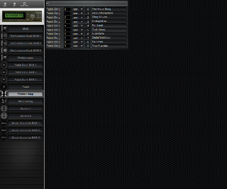 Click to display the Korg Wavestation A/D Perform Map Editor