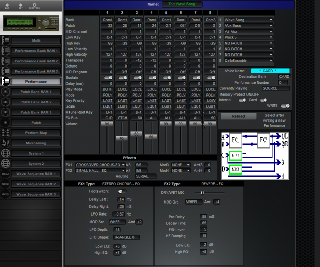 Click to display the Korg Wavestation A/D Performance Editor