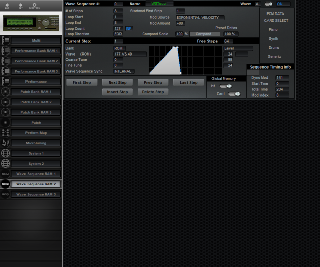 Click to display the Korg Wavestation A/D Wave Sequence RAM 2 Editor