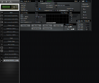 Click to display the Korg Wavestation A/D Wave Sequence RAM 3 Editor