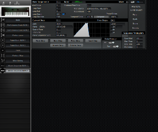 Click to display the Korg Wavestation EX Wave Sequence RAM 2 Editor
