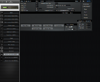 Click to display the Korg Wavestation SR Wave Sequence RAM 1 Editor