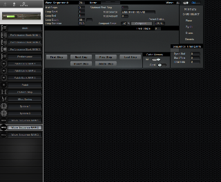 Click to display the Korg Wavestation SR Wave Sequence RAM 2 Editor