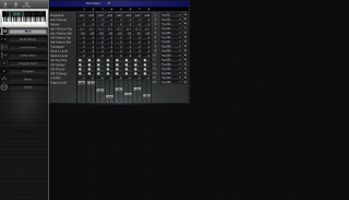 Click to display the Korg X5DR Multi Editor