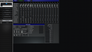 Click to display the Korg i30 All Songs Editor