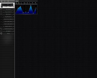 Click to display the Kurzweil K2500 Pressure Map Editor