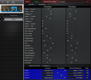 Click to display the Lexicon LXP-5 Patch Editor