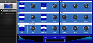 Click to display the MFB Synth Lite II Patch Editor