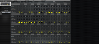 Click to display the Moog Sub 37 Sequence Editor