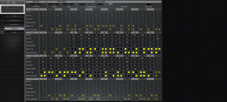 Click to display the Moog Sub 37 Tribute Sequence Editor