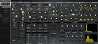 Click to display the Moog Subsequent 37 Preset Editor