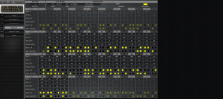 Click to display the Moog Subsequent 37 Sequence Editor