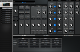 Click to display the Moog Voyager Preset - Pot Maps Editor