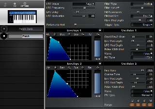 Click to display the Novation Bass Station Patch Editor