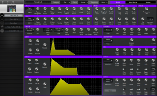 Click to display the Novation Circuit Patch (Ch 1) - Synth Editor