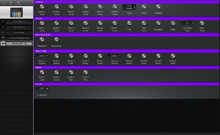 Click to display the Novation Circuit Session (Ch 16) Editor